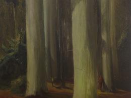 Dezertéři, 2017, 195x175cm, olej na plátně