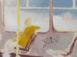 Tram, 2013, 90x60 cm, oil on canvas