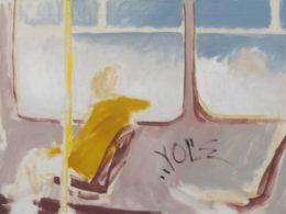 Tramvaj, 2013, 90x60cm, olej na plátně