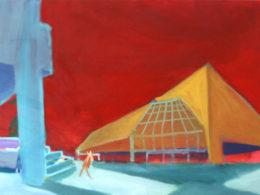 Tesco, 2014, 50x70 cm, olej na plátně