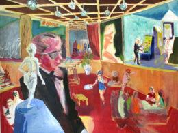 Casino, 2014, 90x110 cm, oil on canvas