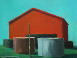 Red House, 2013, 35x40 cm, oil on canvas*