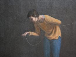 Citlivý podnět, 2015, 50x40 cm, olej na plátně*
