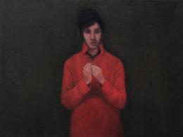 Tajnosti, 2016, 50x40 cm, olej na plátně