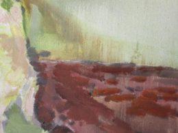 Pole, 2015, 80x90 cm, olej na plátně