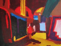 Vamos, 2014, 80x90 cm, olej na plátně