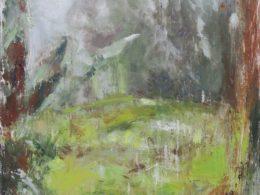 Zimní déšť, 2019, olej na plátně, 80 x 100 cm*